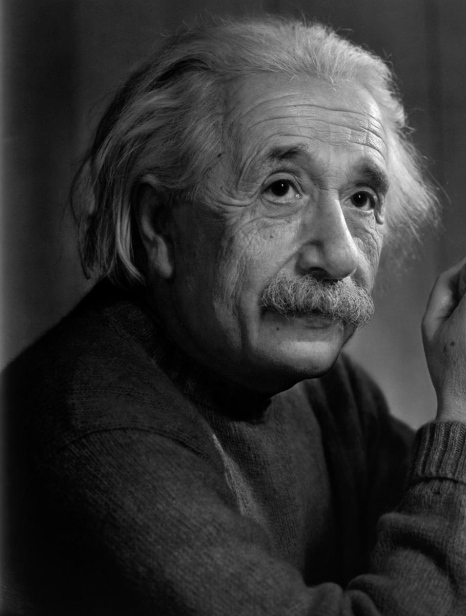 Albert Einstein, Theoretical physicist - Germany - U S