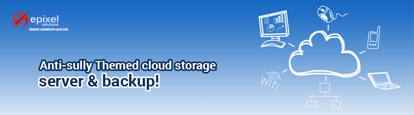 Anti Sully Themed cloud storage server and backup from epixel