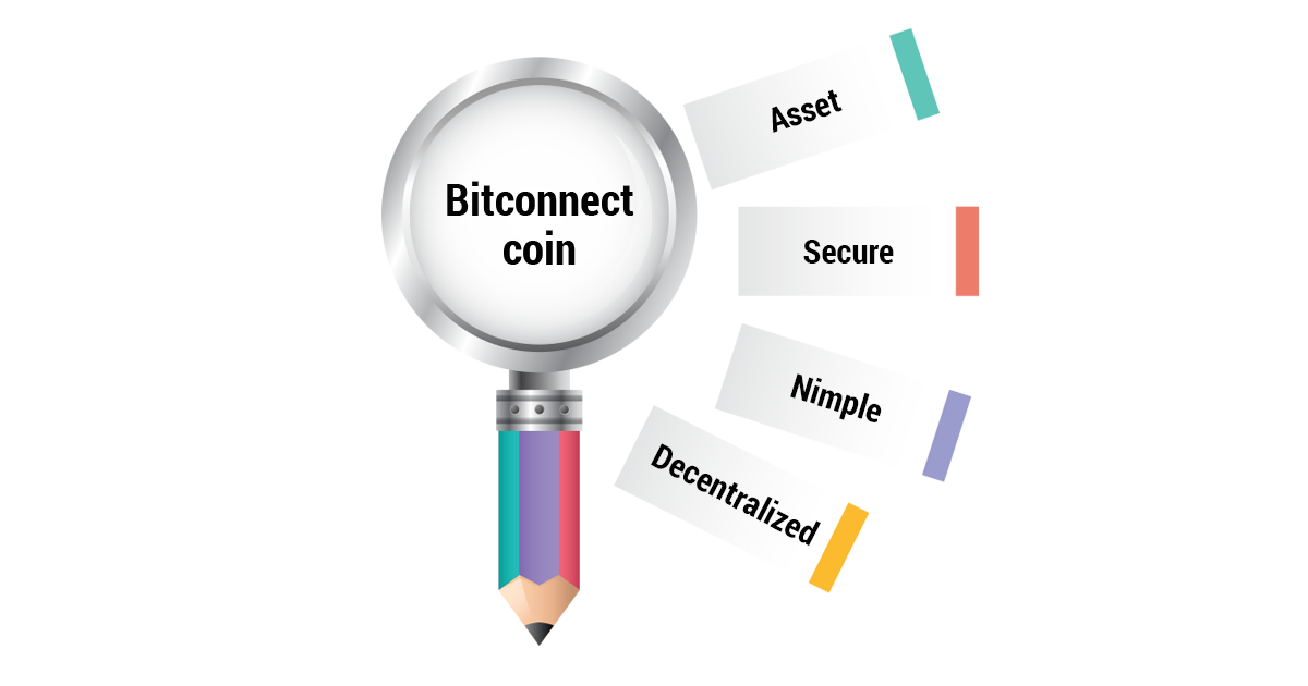 Bitconnect coin elements