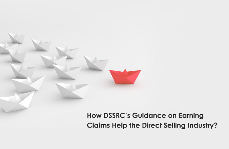 Guidance on earnings claims for the direct selling industry