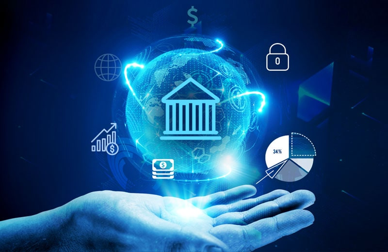 How does blockchain technology transform the banking/financial sector?