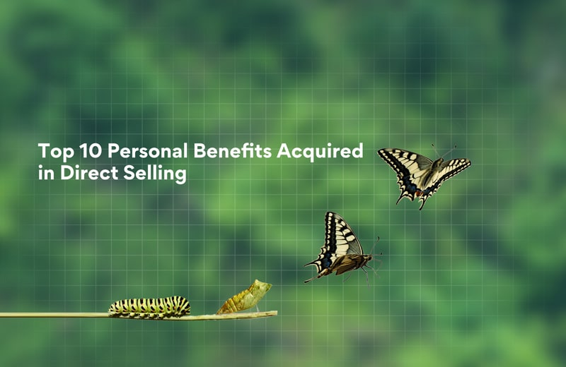 Top 10 personal benefits of direct selling