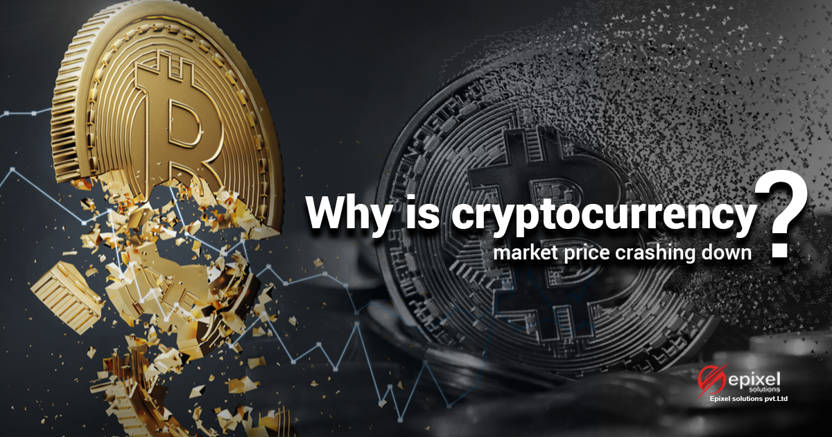 Why cryptocurrency stock down