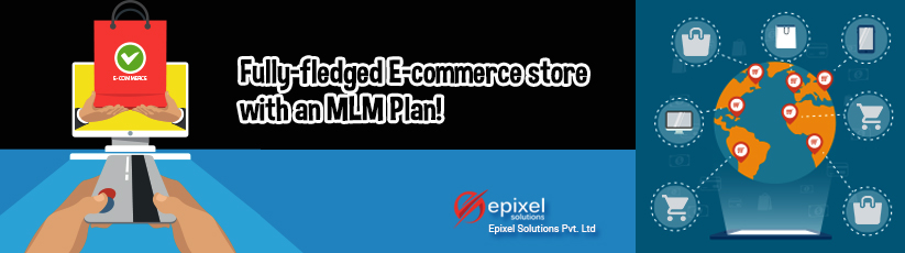 Fully-fledged E-commerce store with an MLM Plan