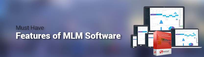 mlm software features