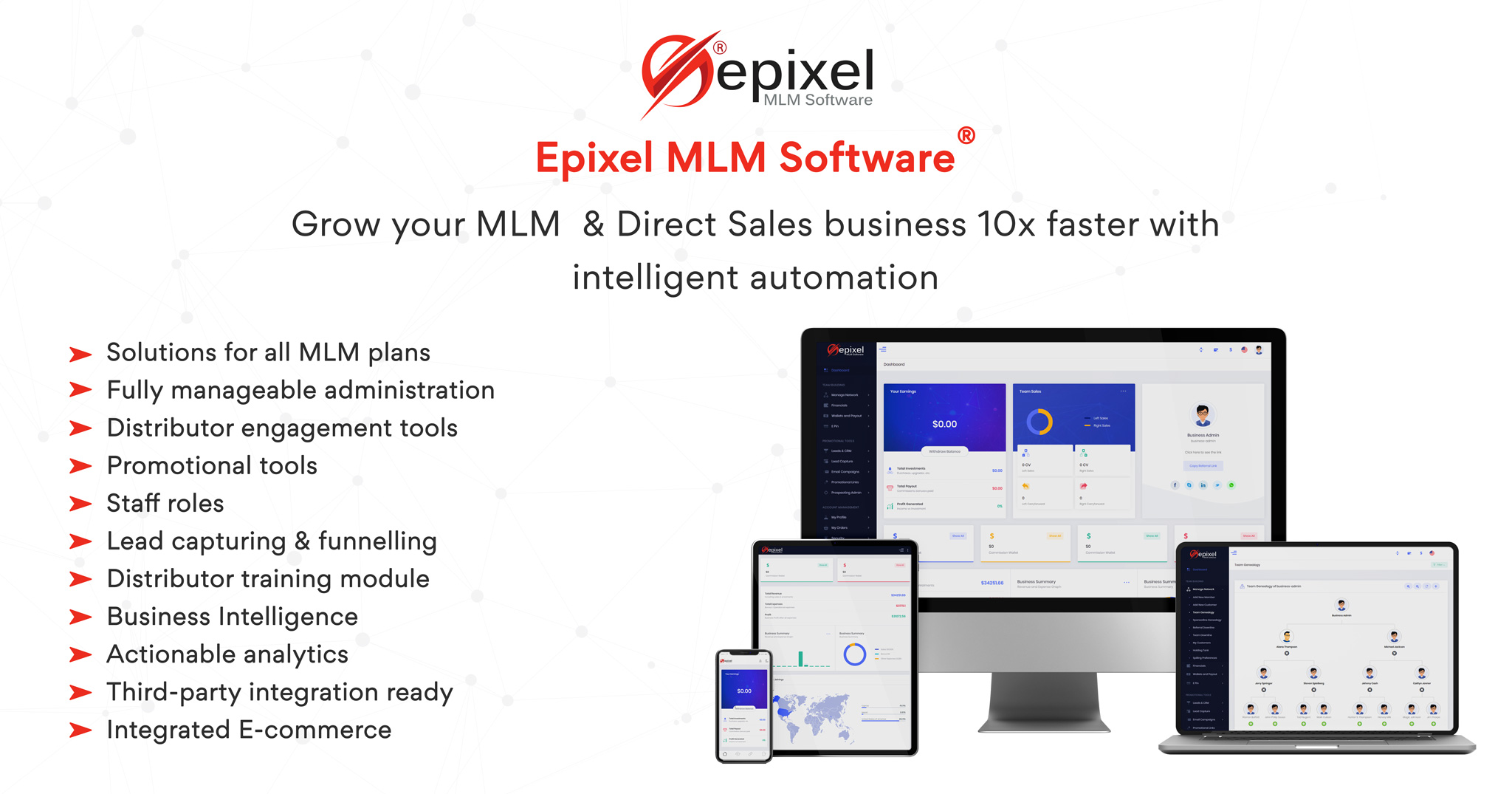 Epixel MLM Software