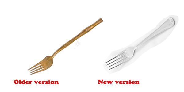Different versions of Fork Types