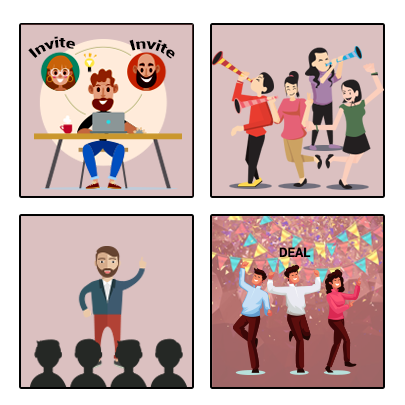 Party MLM Plan illustration