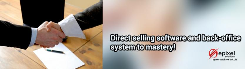 Direct selling software and back-office system