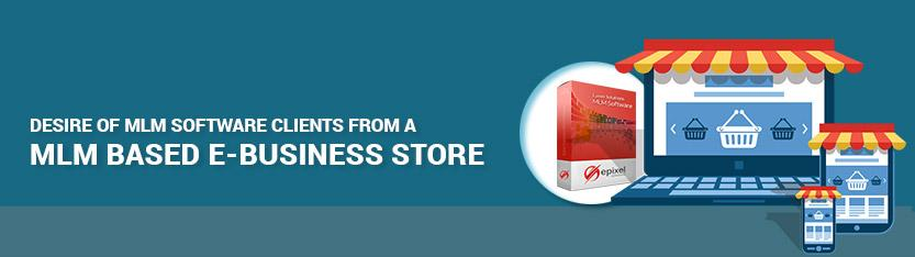 e commerce business with MLM software