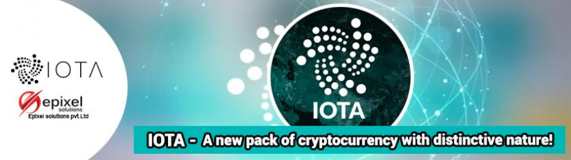 IOTA - A new pack of cryptocurrency with distinctive nature