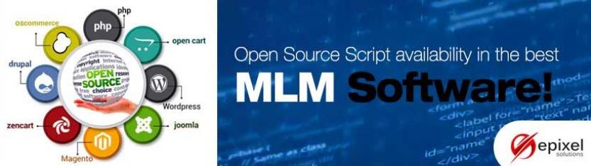 Open source script availability in the best MLM software