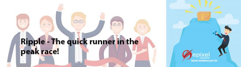 Ripple-The quick runner in the peak race