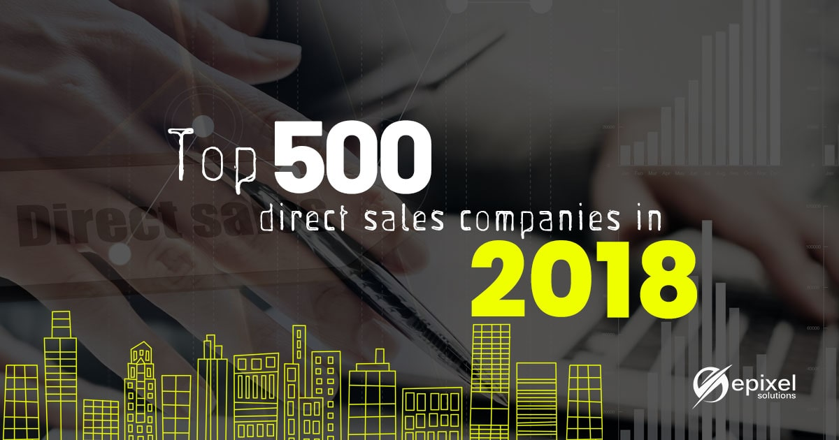 Top 500 direct sales companies in 2018