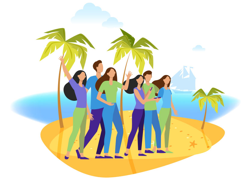 Motivate distributors with trips and parties