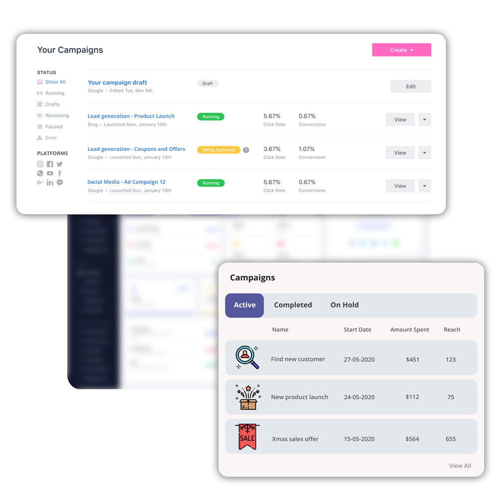 Automated and personalized sales campaigns