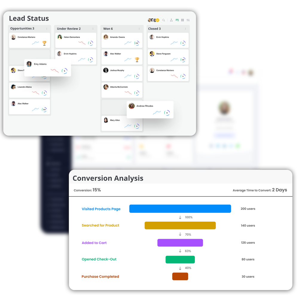 Design an independent lead generation funnel