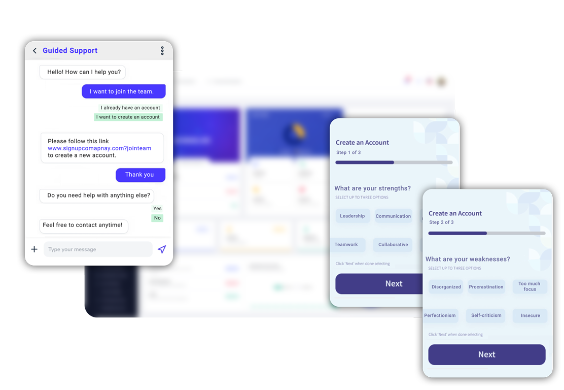 Personalized onboarding experience